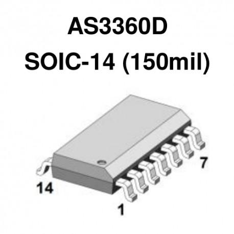 AS3360D (2xVCA)